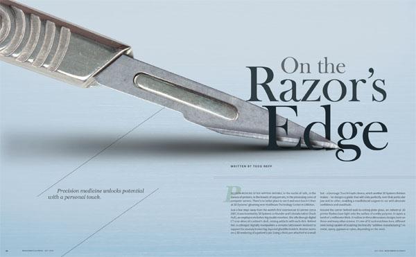 On the Razor's Edge story image