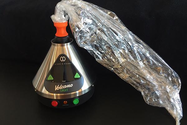 the Volcano Vaporizor