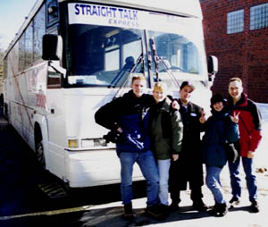Political Voyeurs in New Hampshire, February 2000