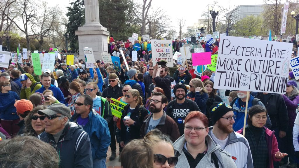 March for Science Denver 2017