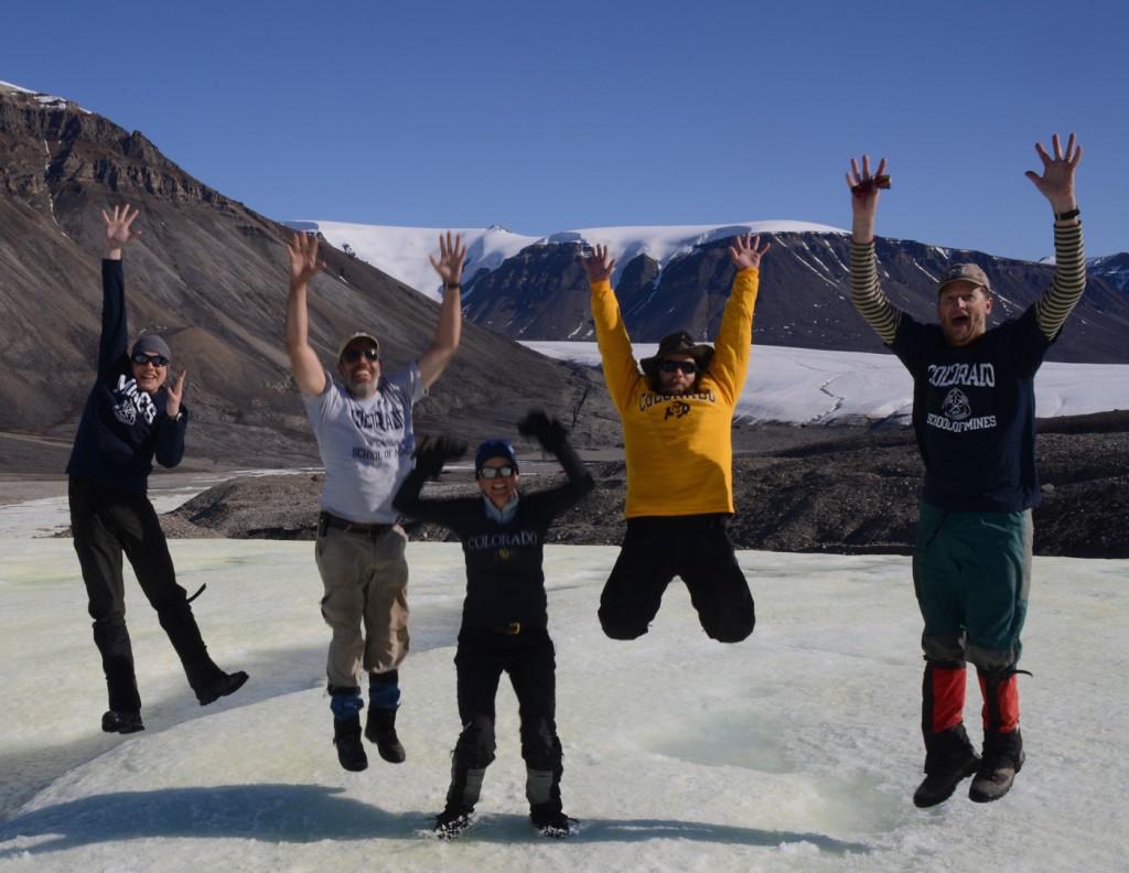 NAI astrobiology team mid-jump