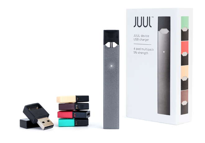Juul package and units