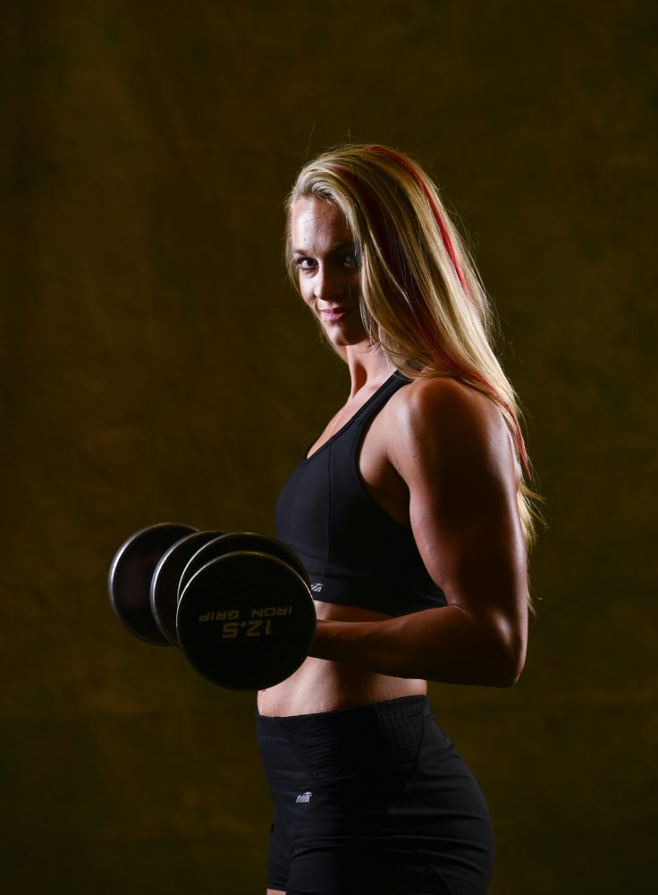 Cassandra Witt, TBI survivor and bodybuilder