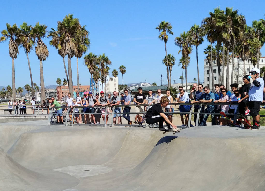 Venice Beach skateboard park