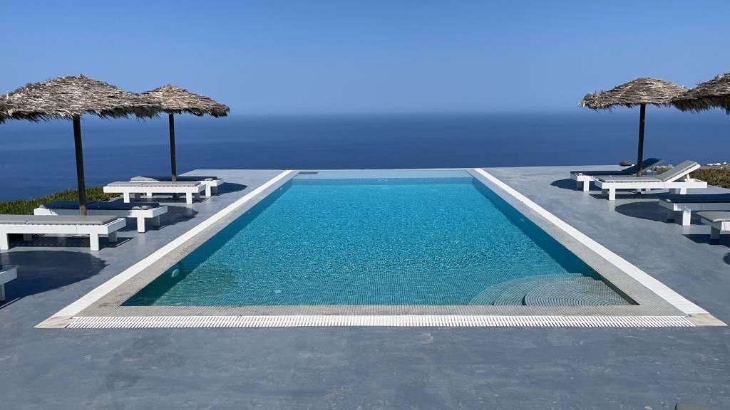 Santorini Eos Villa pool